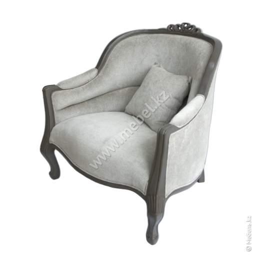 Резное кресло Annecy -серое арт.М107