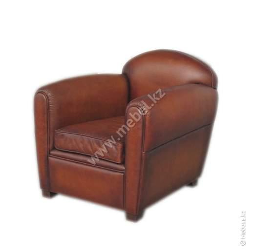 Кресло Bourbon Club коричневое арт.МС001