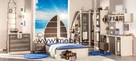 """Калипсо кровать-кораблик""""Любимый дом"""""""