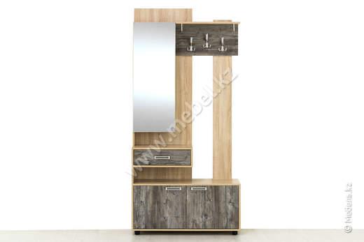 Визит-1 Вешалка С Зеркалом СВ Мебель