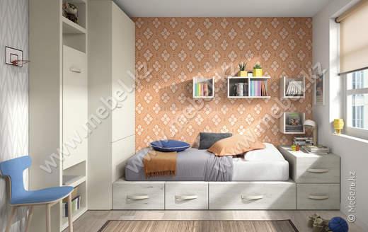 Комплект мебели для детской Kazzano P006