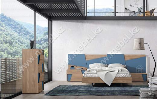 Кровать с тумбами COMP 017