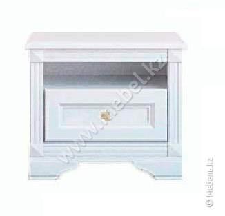 Клео тумба прикроватная-1SO (белый) БРВ Украина